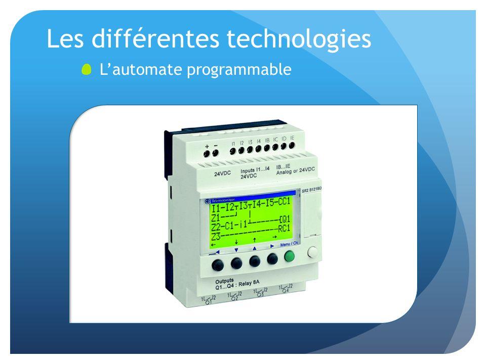 Les différentes technologies Lautomate programmable