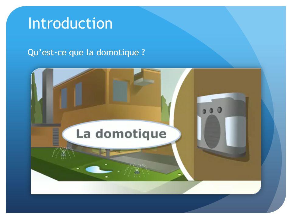 Les fonctions dans la domotique Communication : interphone vidéo