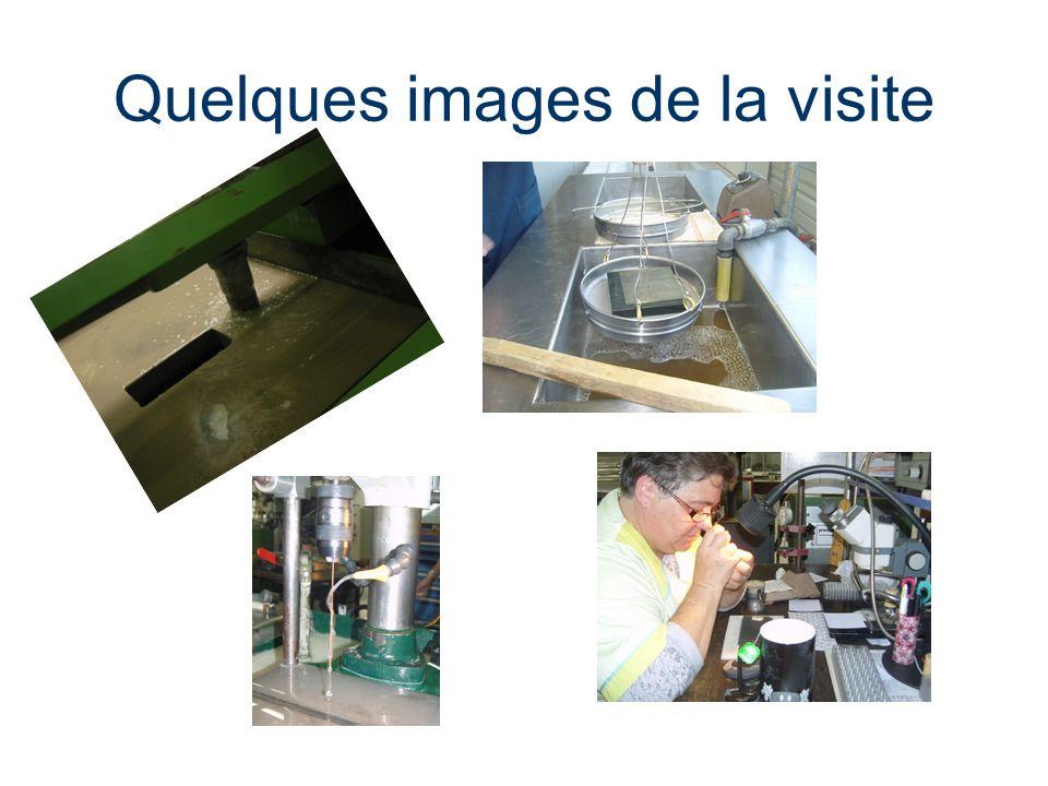 Quelques images de la visite
