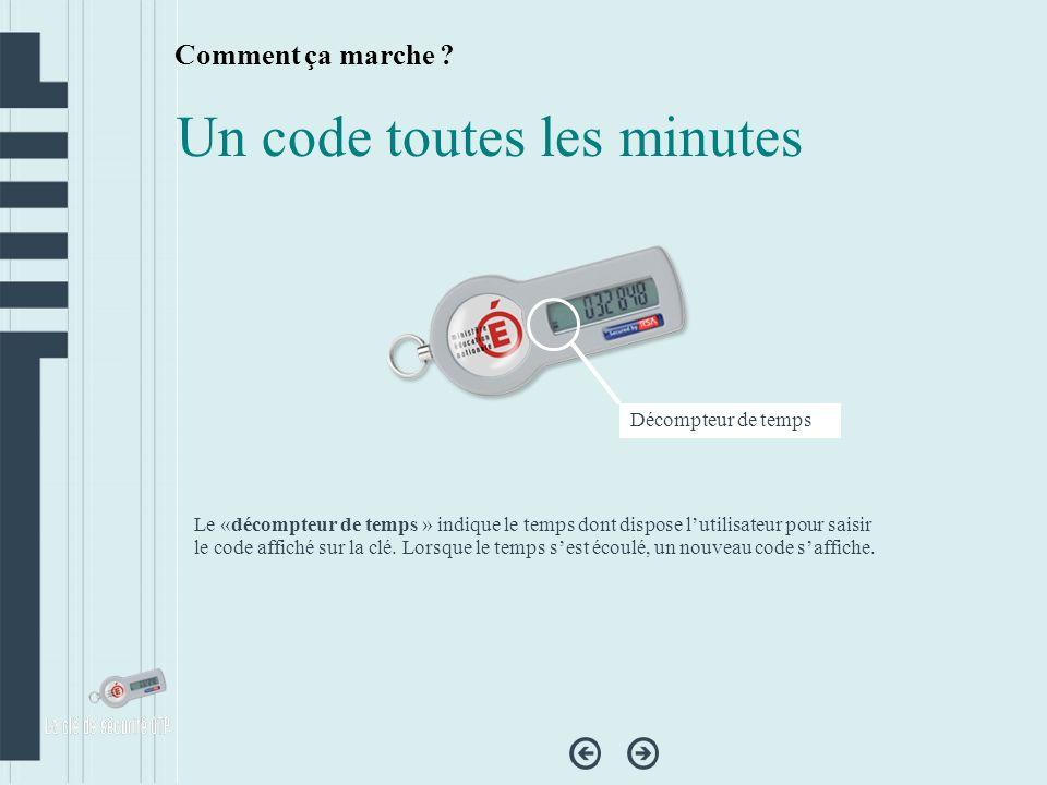 Comment ? Activer sa clé OTP Se connecter sur https://pratic.ac-besancon.fr