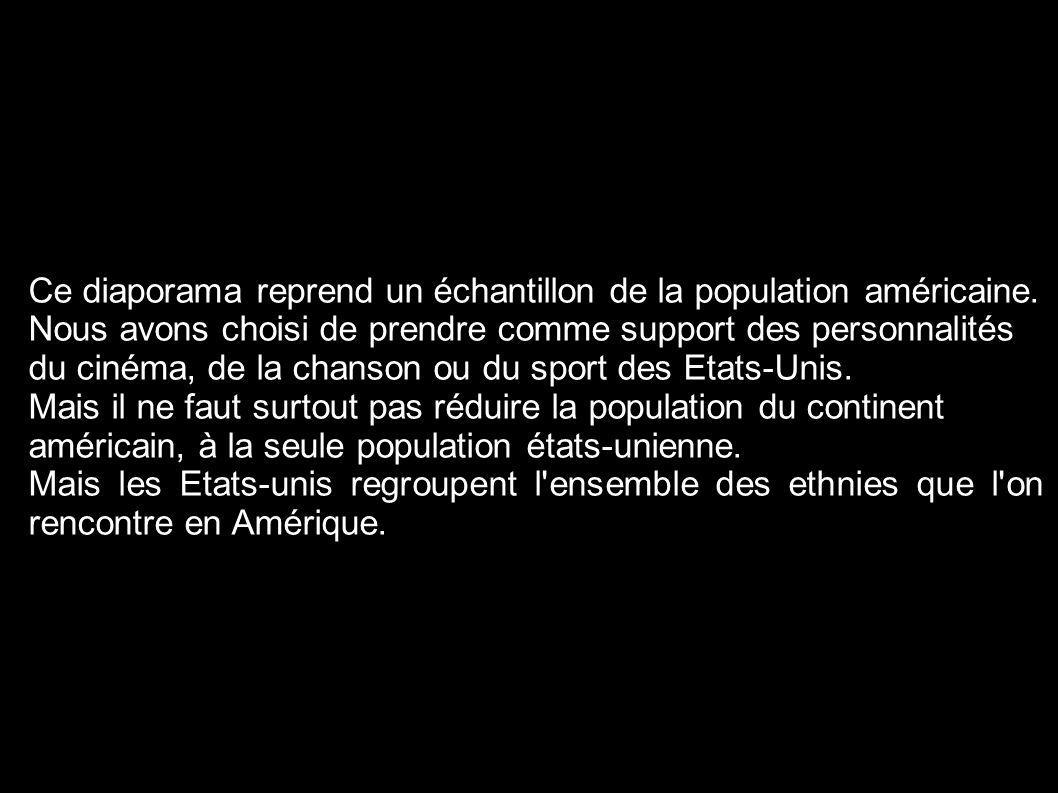 Liste des chanteurs, acteurs et sportifs du diaporama.