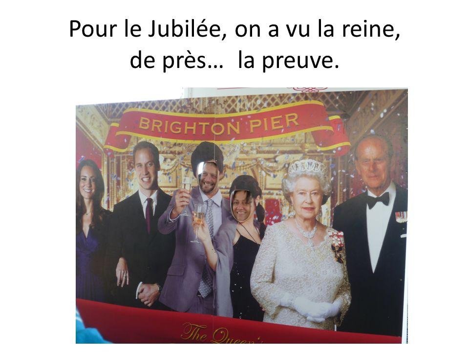 Pour le Jubilée, on a vu la reine, de près… la preuve.