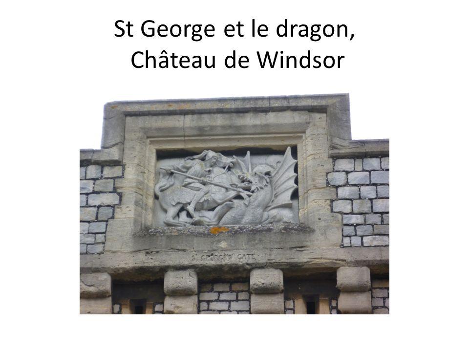 St George et le dragon, Château de Windsor