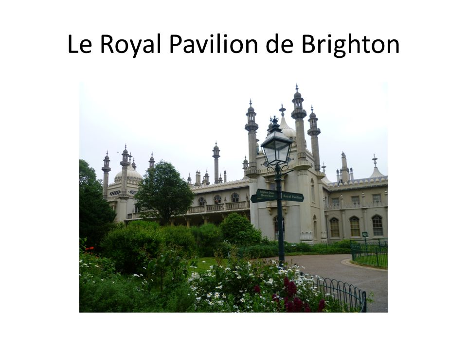 Le Royal Pavilion de Brighton
