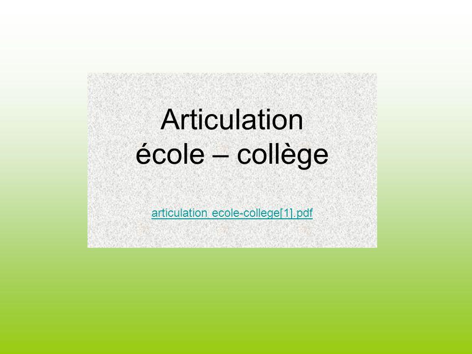 Articulation école – collège articulation ecole-college[1].pdf articulation ecole-college[1].pdf
