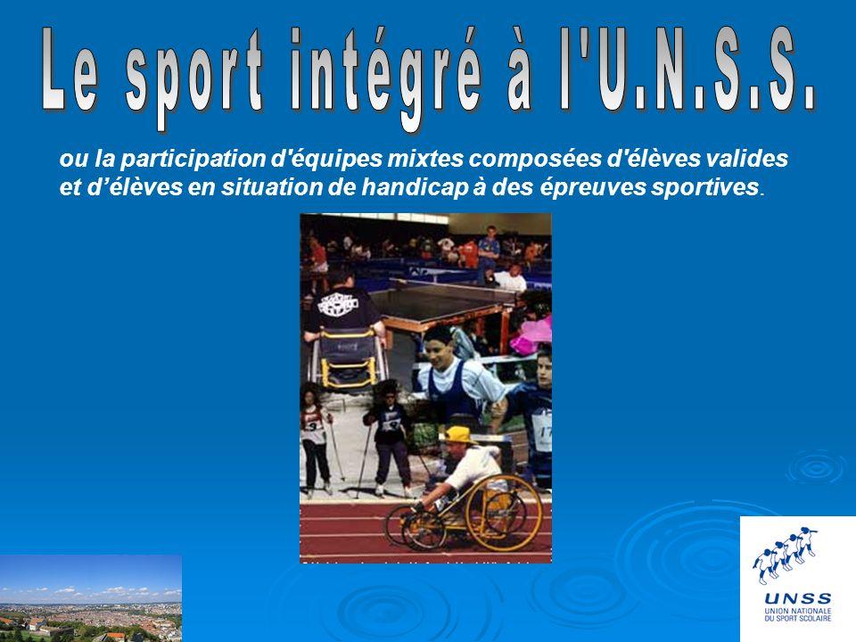 UNSS 25 sud SommaireLiens Accueil Les actions Administratif Jeunes off Sport intégré DistrictsPhotos Présentation Contacts Partenaires Mercredi à veni