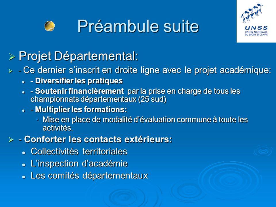 Préambule Laide accrue du conseil général permet de répondre aux objectifs fixés par mes prédécesseurs: Laide accrue du conseil général permet de répo