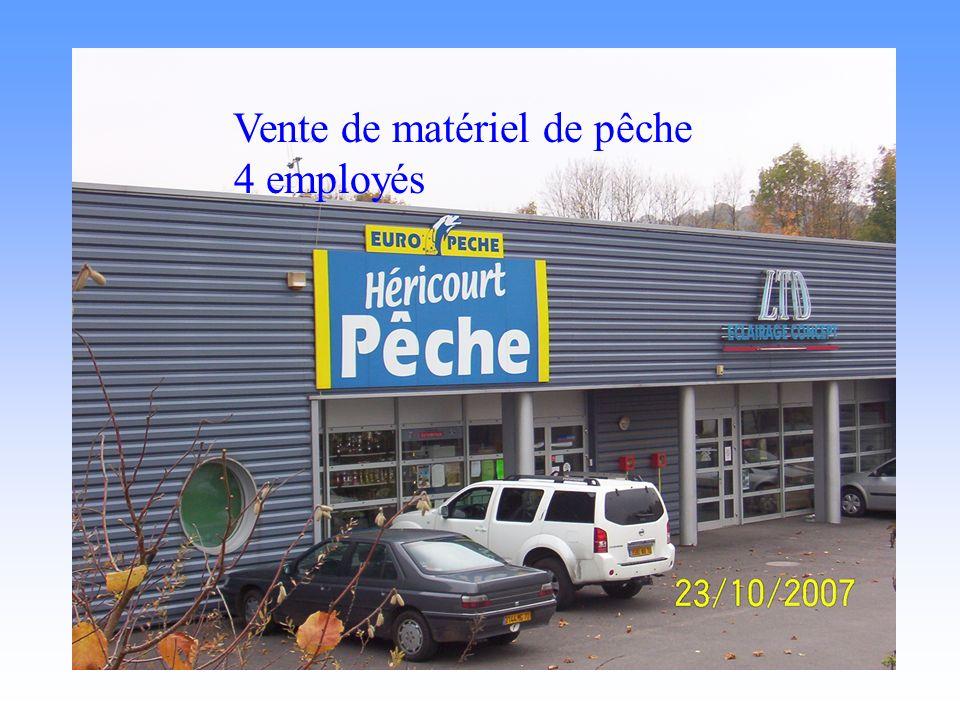 Héricout pèche Vente de matériel de pêche 4 employés