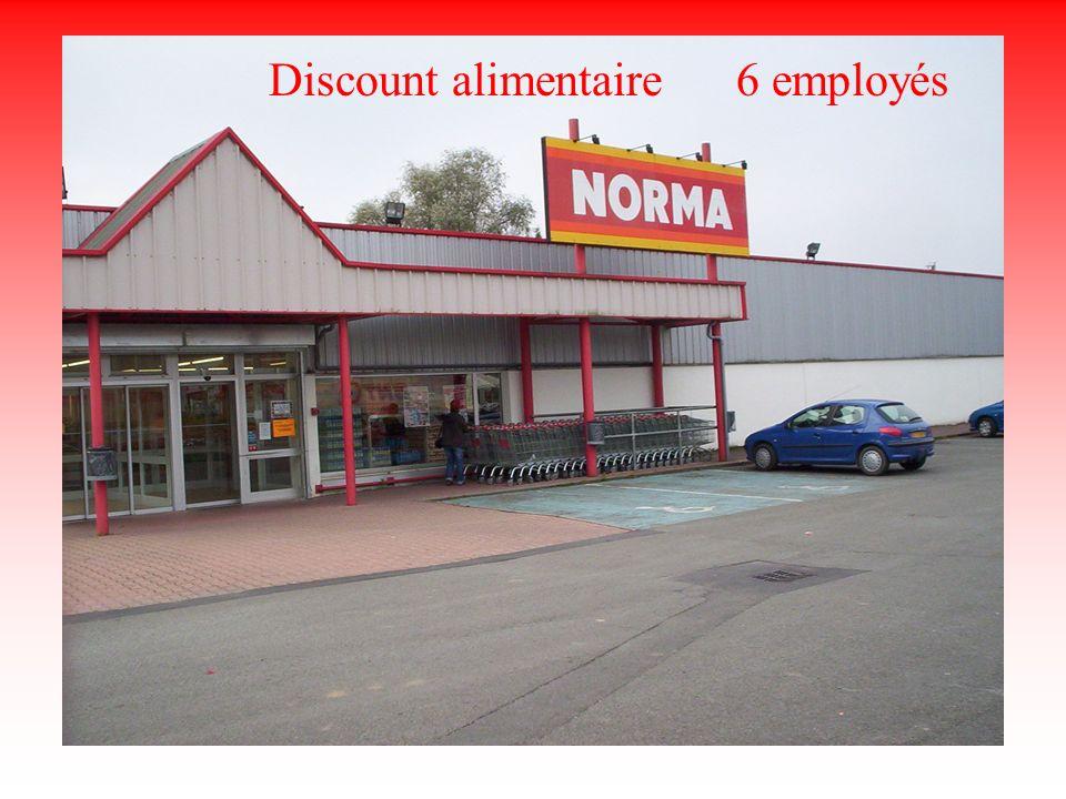 Norma Discount alimentaire 6 employés