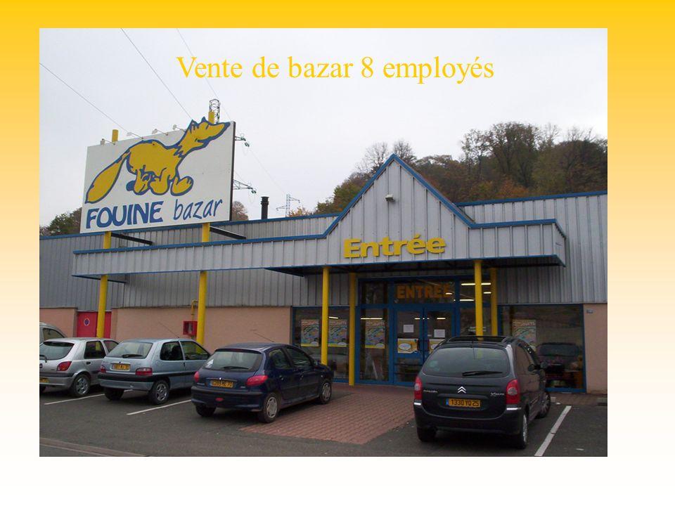 Fouine bazar Vente de bazar 8 employés