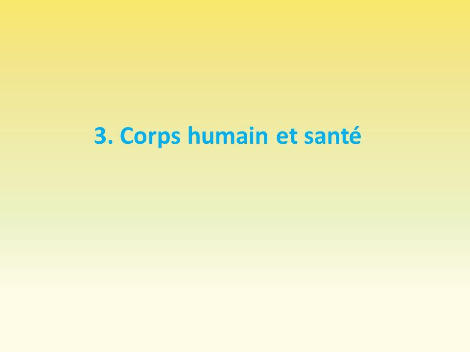 3. Corps humain et santé