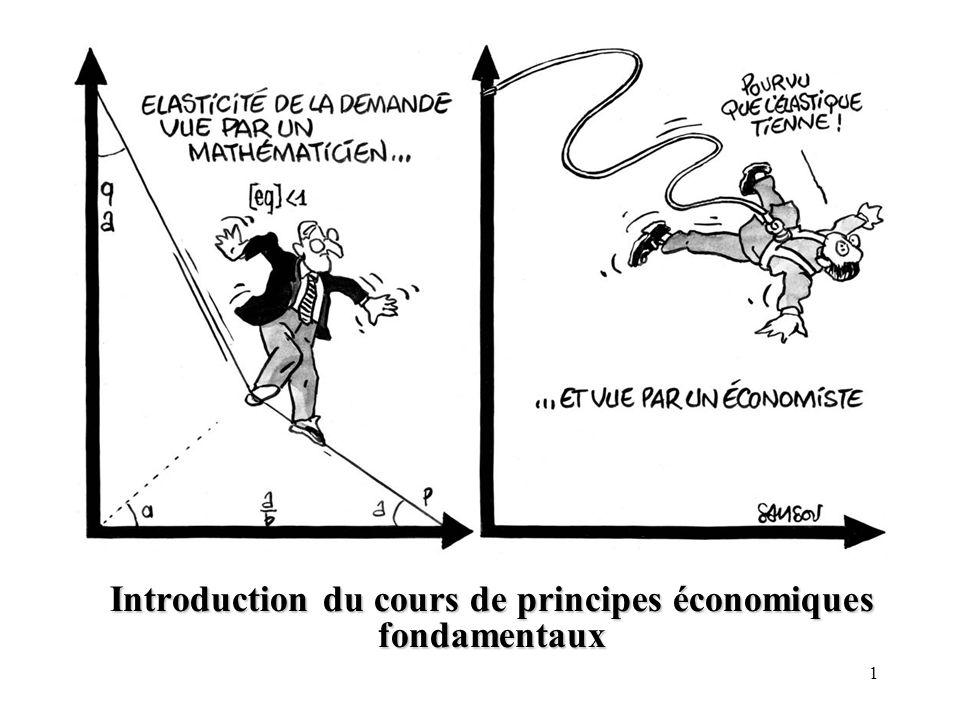 1 Introduction du cours de principes économiques fondamentaux