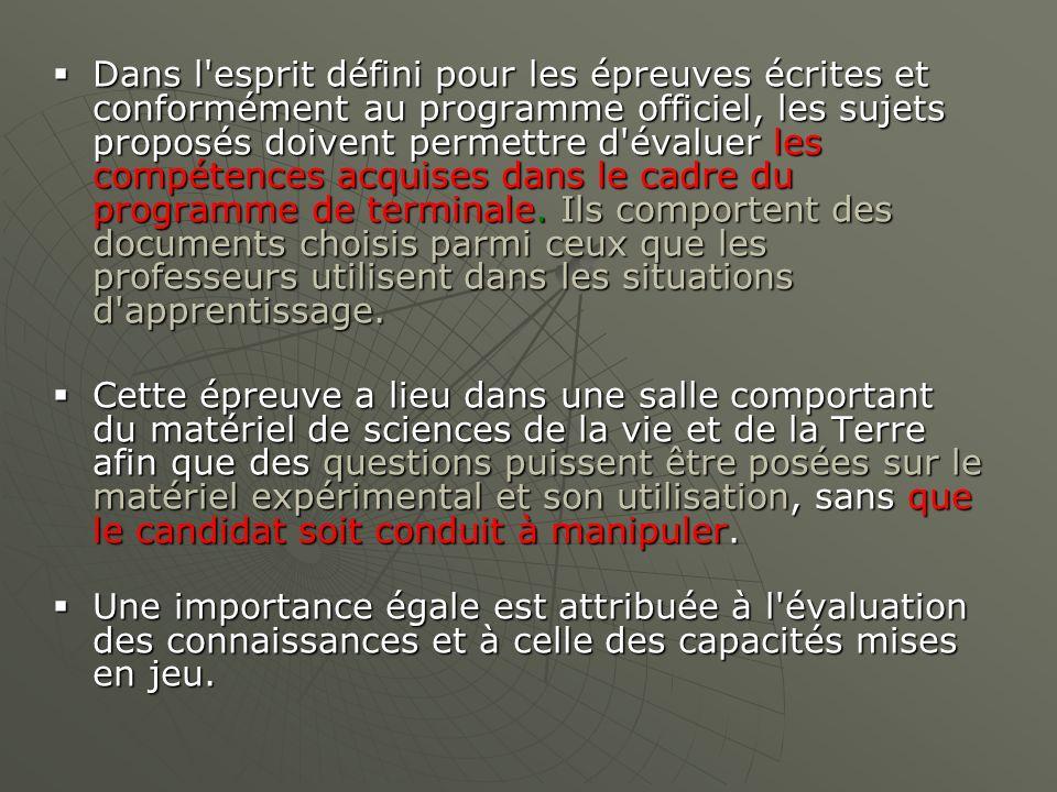 Deux domaines… On parle de thèmes dans le programme….
