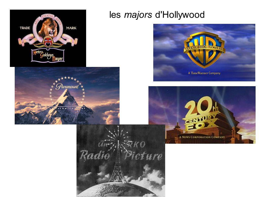 les majors d'Hollywood