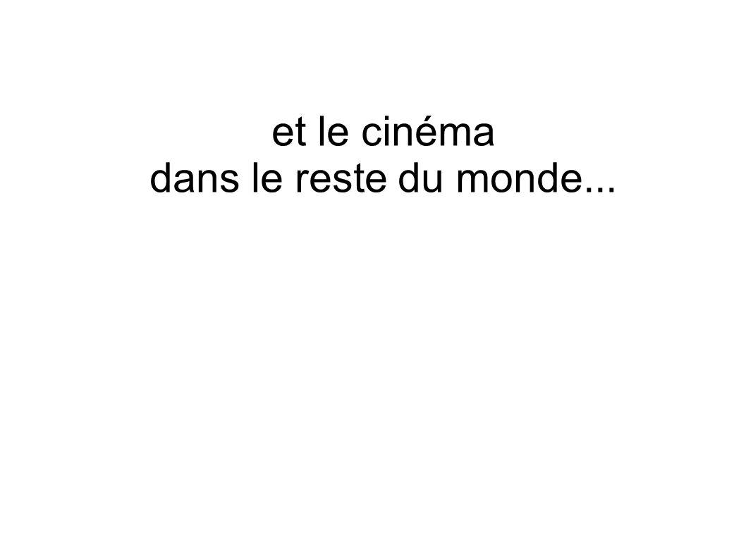 et le cinéma dans le reste du monde...