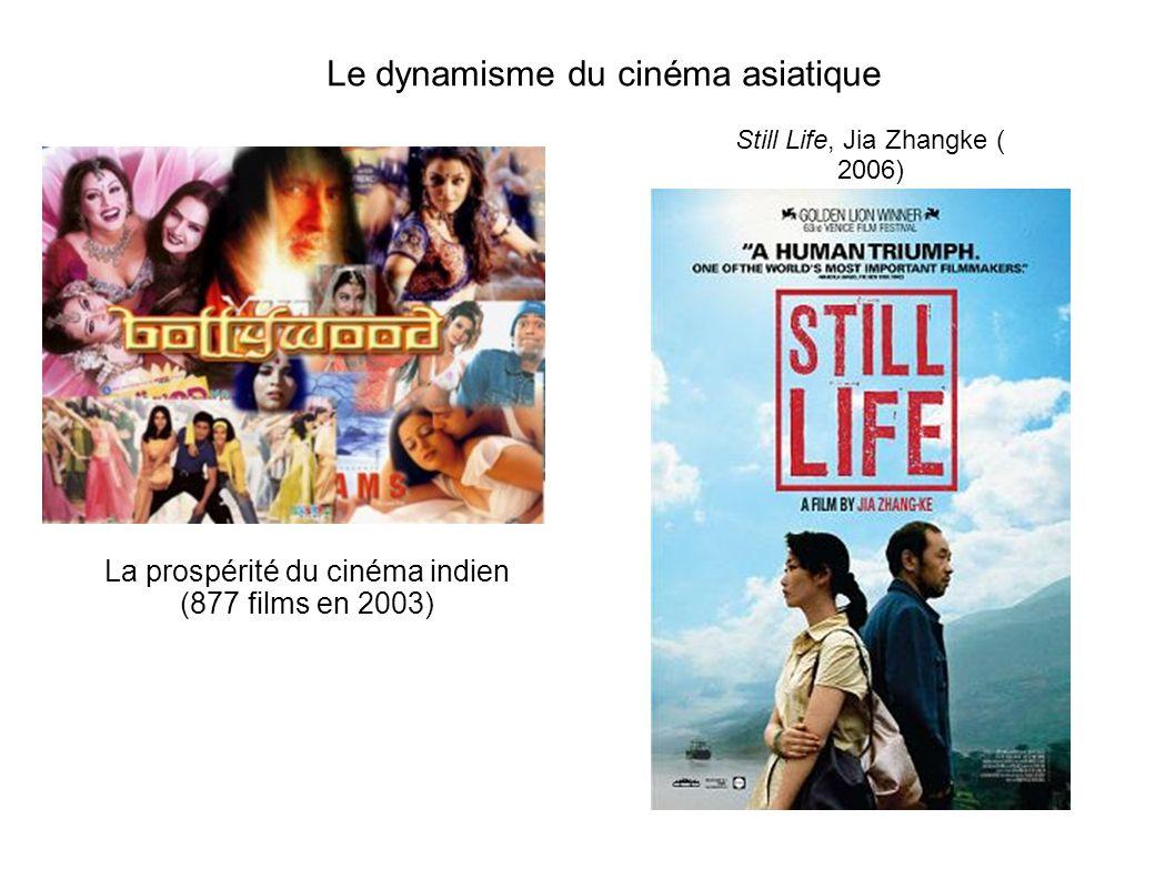 Le dynamisme du cinéma asiatique La prospérité du cinéma indien (877 films en 2003) Still Life, Jia Zhangke ( 2006)