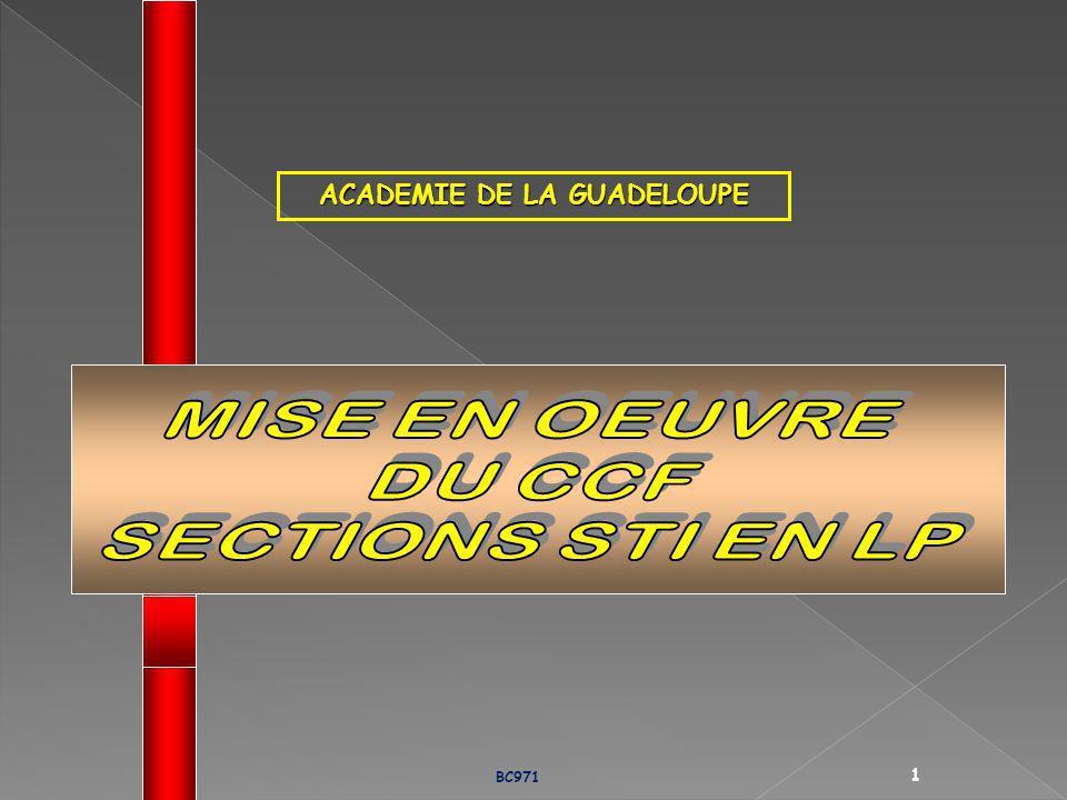 ACADEMIE DE LA GUADELOUPE BC971 1