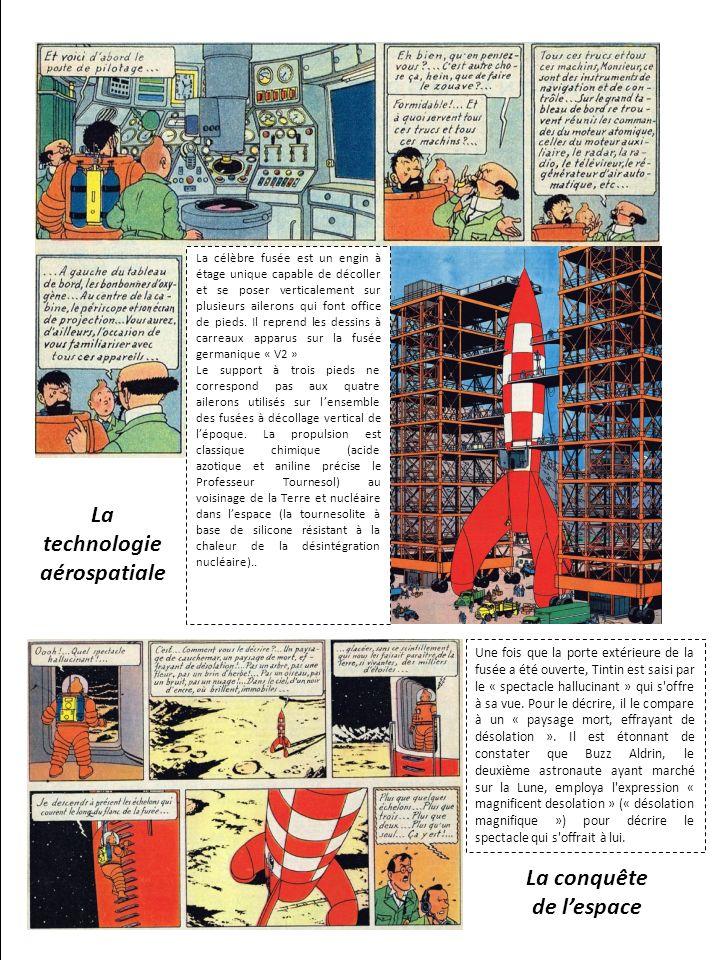 Hergé et la littérature danticipation de son époque Hergé et les missions « Apollo »
