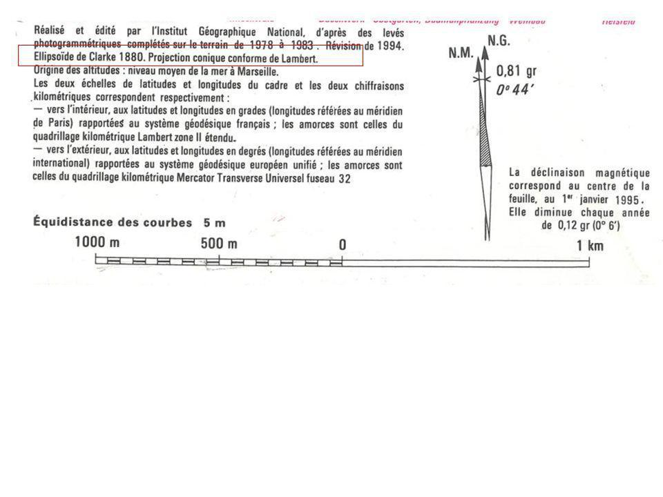 2) Quest ce quun ellipsoïde de référence .