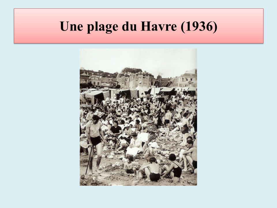 Une plage du Havre (1936)