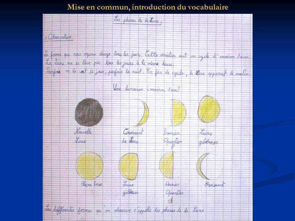 Situations problèmes Pourquoi la Lune change-t-elle daspect .
