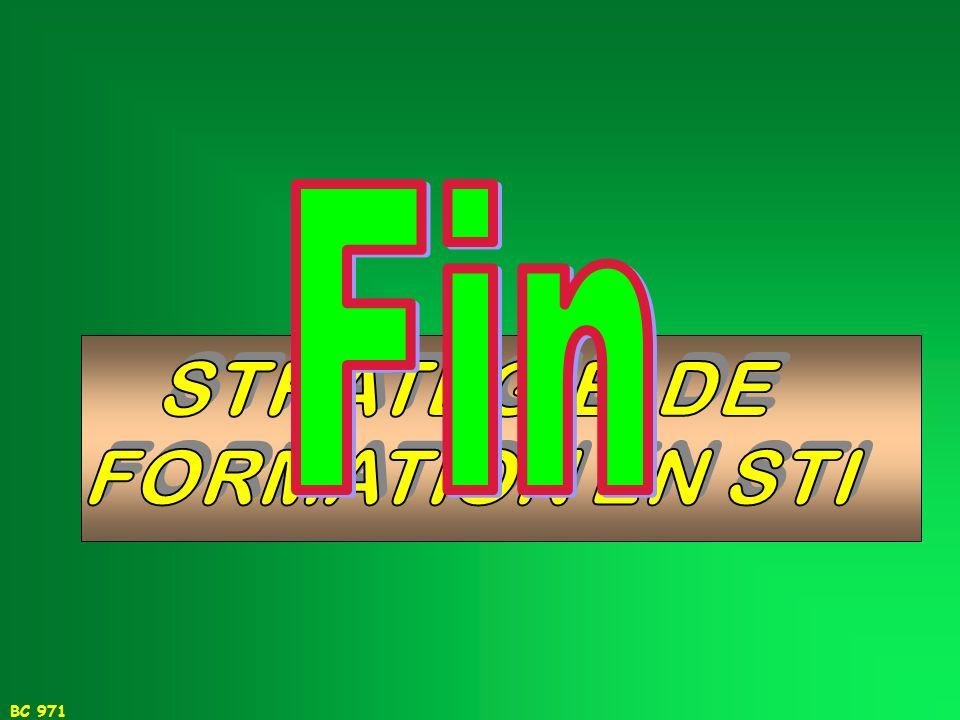BC 971 OPERATIONNALISATION DE LA STRATEGIE RETENUE ET PERSECTIVES 2.INFORMER SUR LES CONCEPTS REFERENTS RETENUS 4.FAIRE EVOLUER ET PARTAGER LES OUTILS