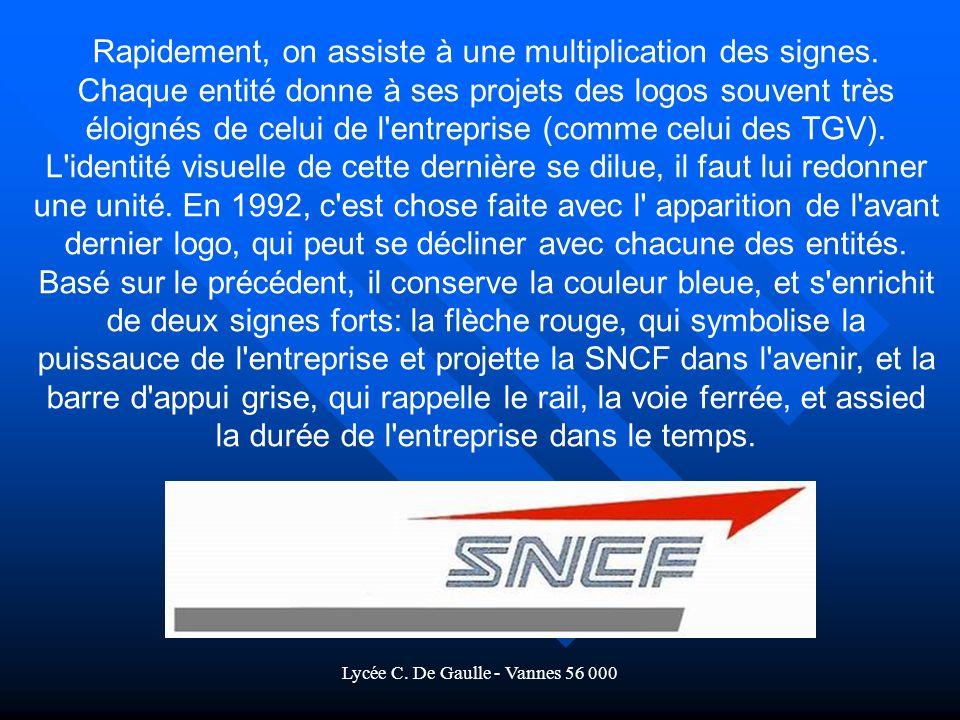 Lycée C.De Gaulle - Vannes 56 000 Rapidement, on assiste à une multiplication des signes.