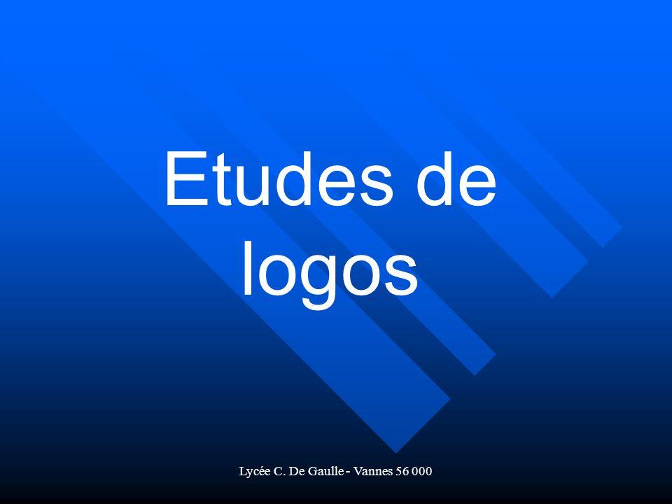 Lycée C. De Gaulle - Vannes 56 000 Etudes de logos