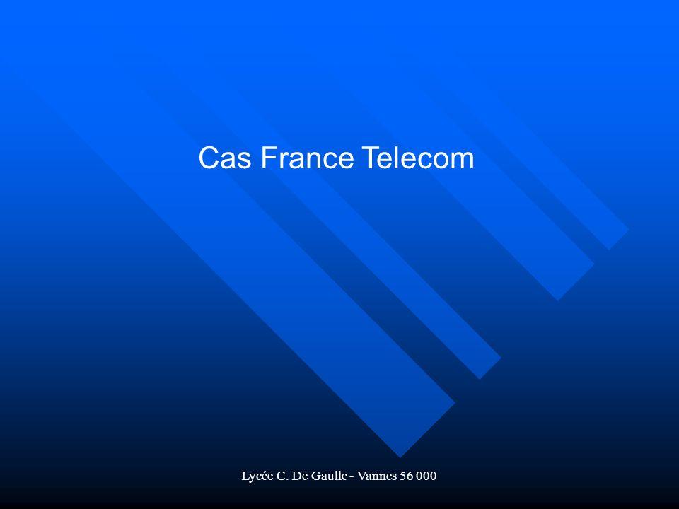 Lycée C. De Gaulle - Vannes 56 000 Cas France Telecom