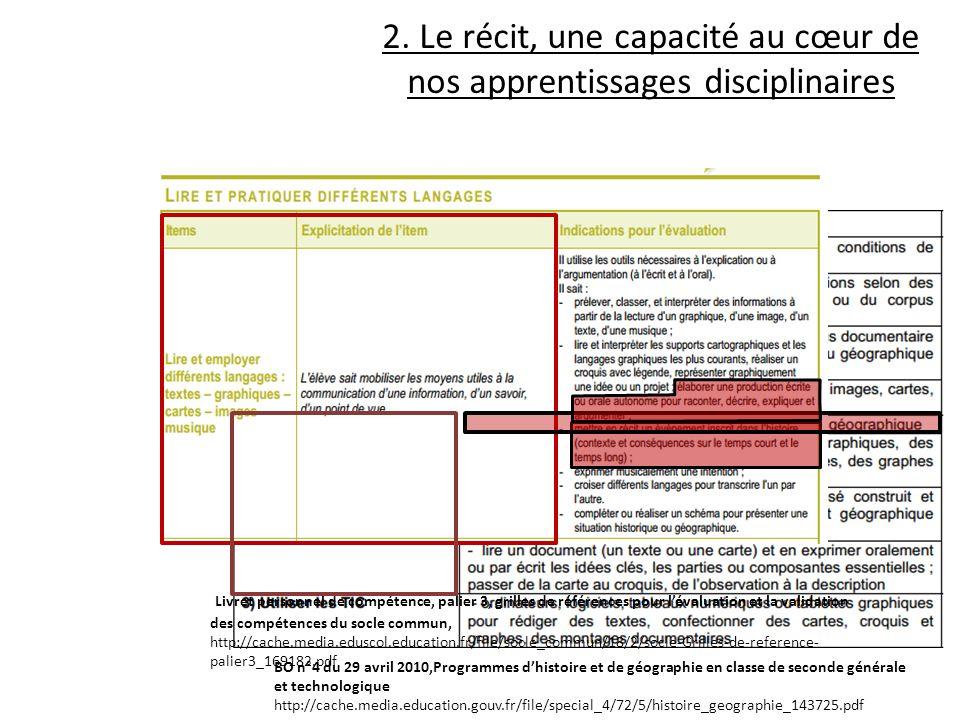 Livret personnel de compétence, palier 3, grilles de références pour lévaluation et la validation des compétences du socle commun, http://cache.media.