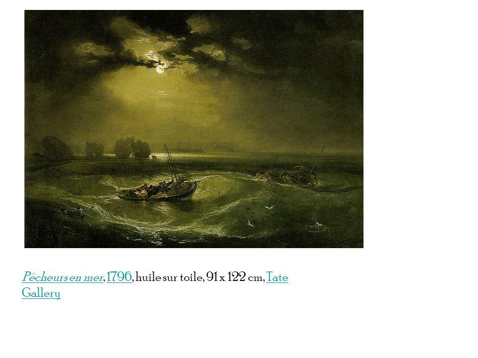 Pêcheurs en merPêcheurs en mer, 1796, huile sur toile, 91 x 122 cm, Tate Gallery1796Tate Gallery