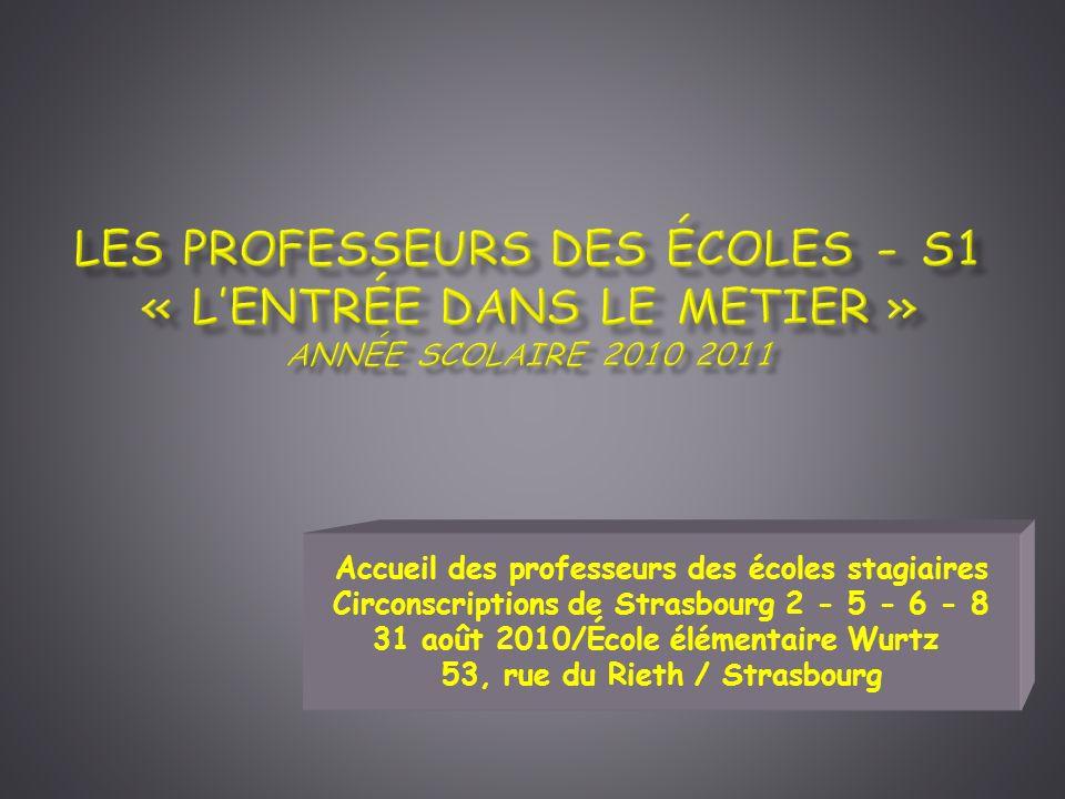Les 10 compétences professionnelles des maîtres 1.