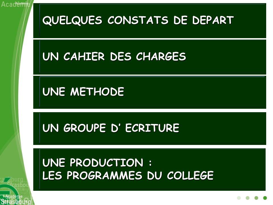 Finalités et objectifs Programme Collège 1996Programme Collège 2009 …3 finalités : - Le développement des capacités… - L acquisition, par la pratique, des compétences et connaissances… - L accès aux connaissances….