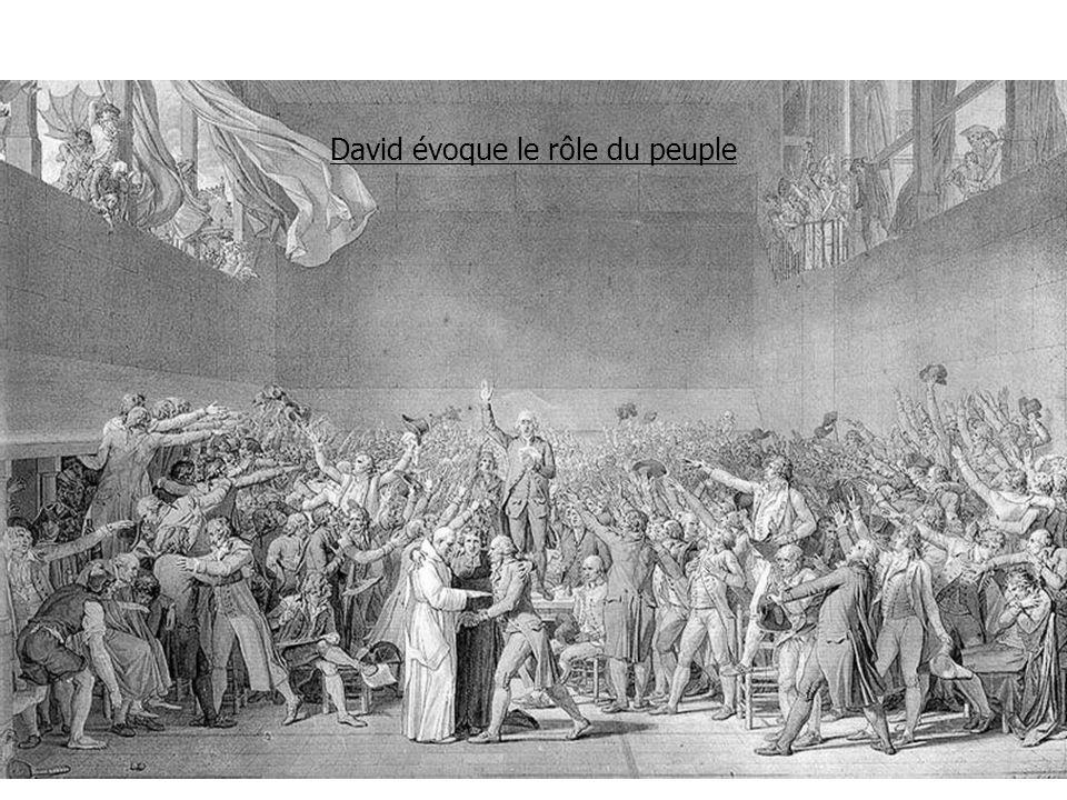 David évoque le rôle du peuple