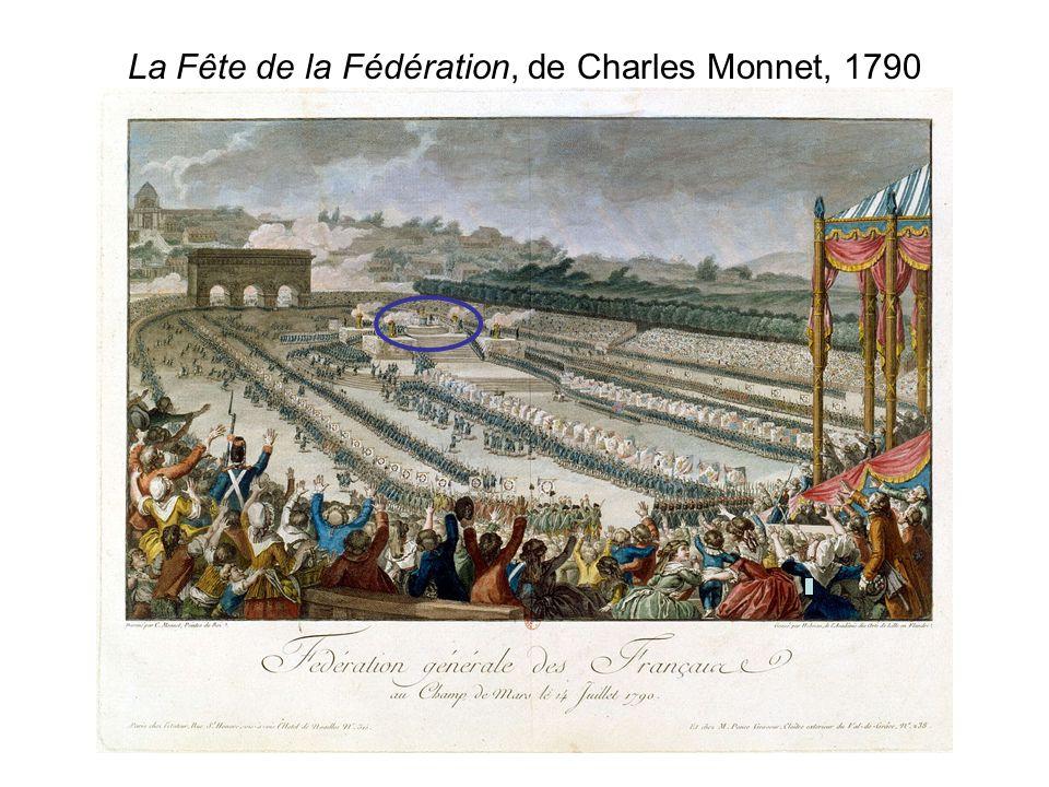 La Fête de la Fédération, de Charles Monnet, 1790