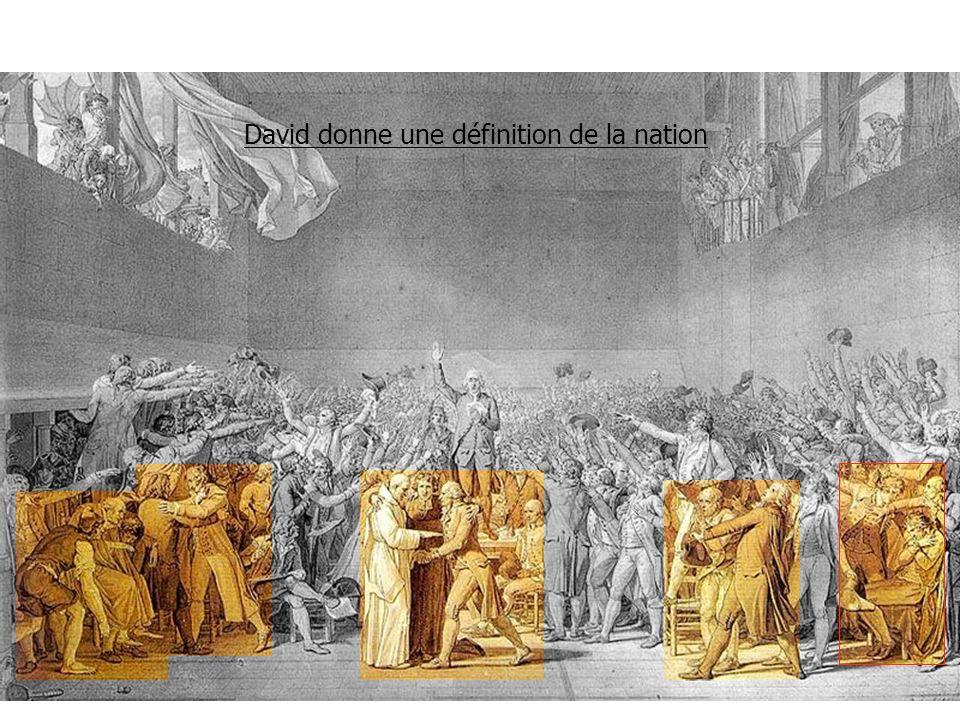 David donne une définition de la nation