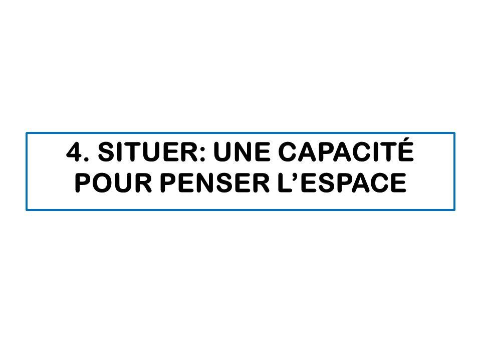 4. SITUER: UNE CAPACITÉ POUR PENSER LESPACE