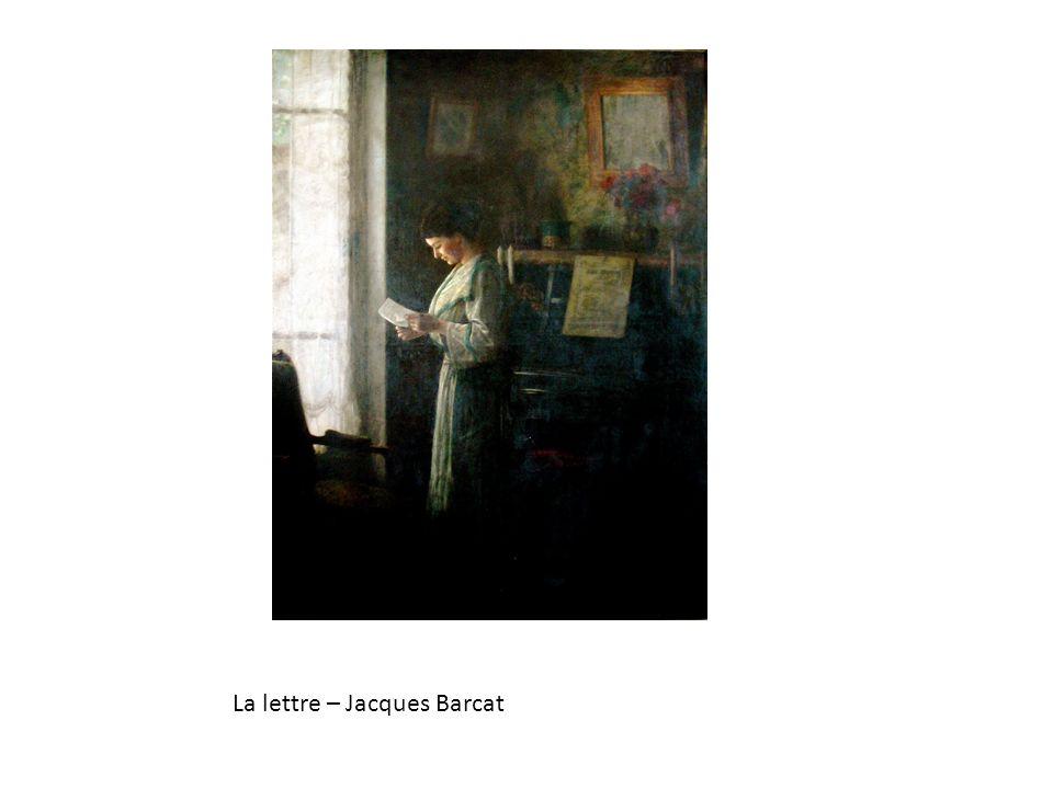 La lettre – Jacques Barcat