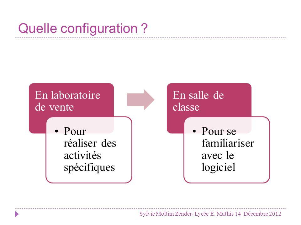 Pourquoi Frontshop .Sylvie Moltini Zender- Lycée E.