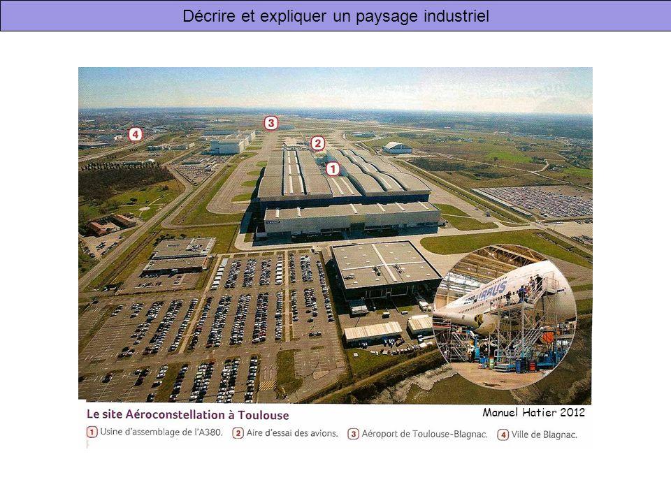 Décrire et expliquer un paysage industriel Manuel Hatier 2012