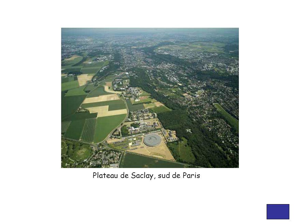 Plateau de Saclay, sud de Paris