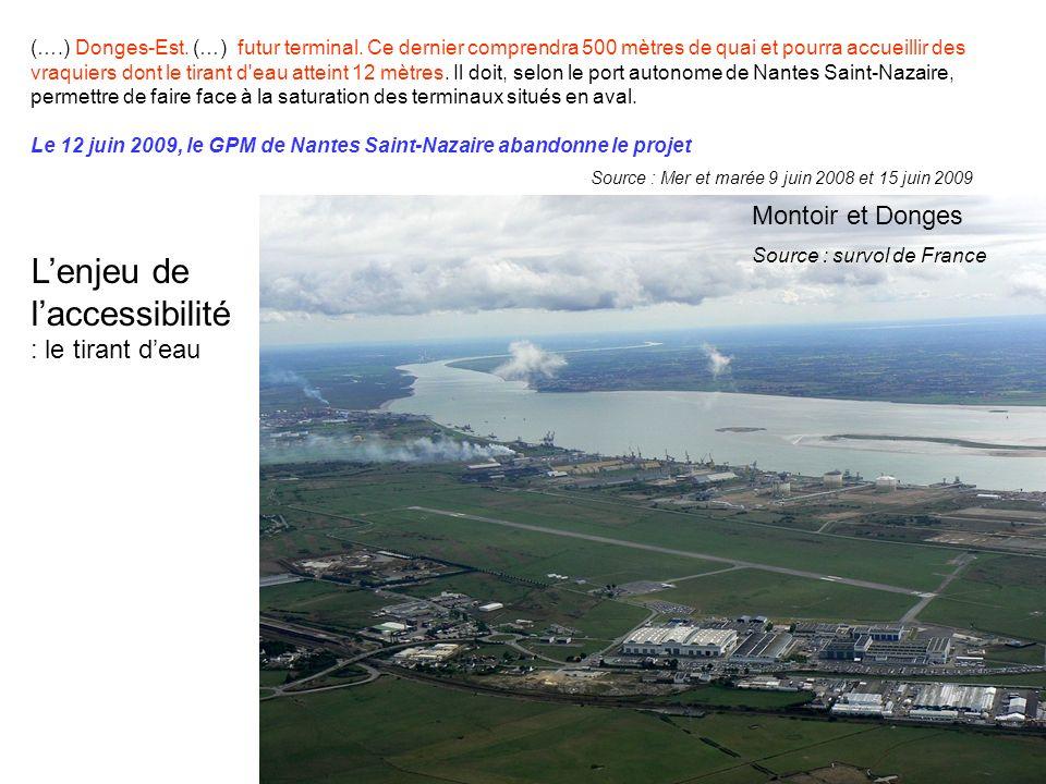 (….) Donges-Est. (…) futur terminal.