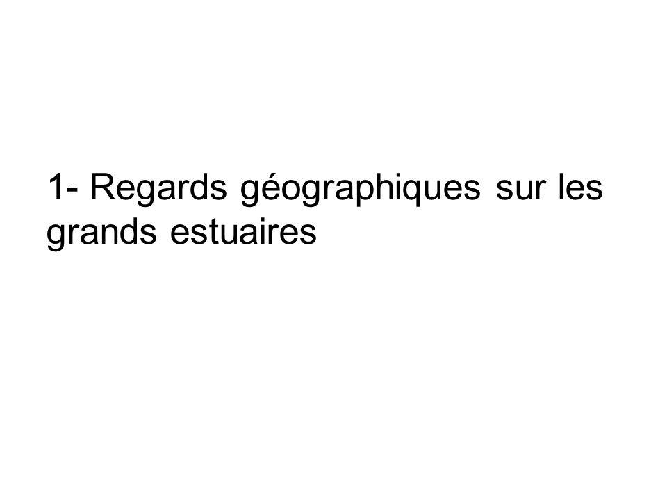1- Regards géographiques sur les grands estuaires