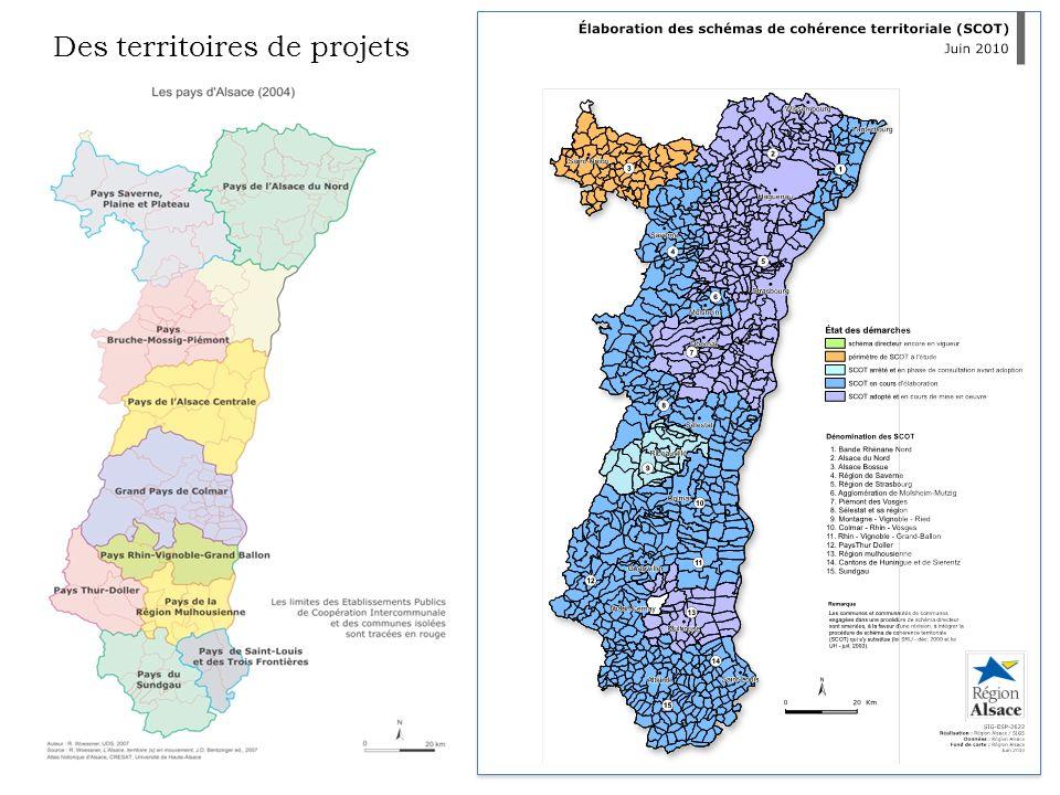 Des territoires de projets