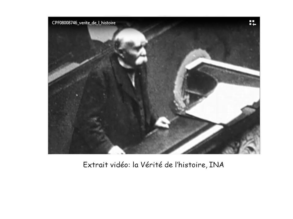 Extrait vidéo: la Vérité de lhistoire, INA