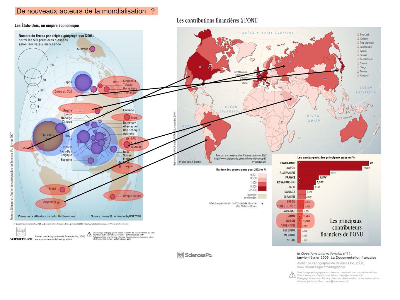 De nouveaux acteurs de la mondialisation ?