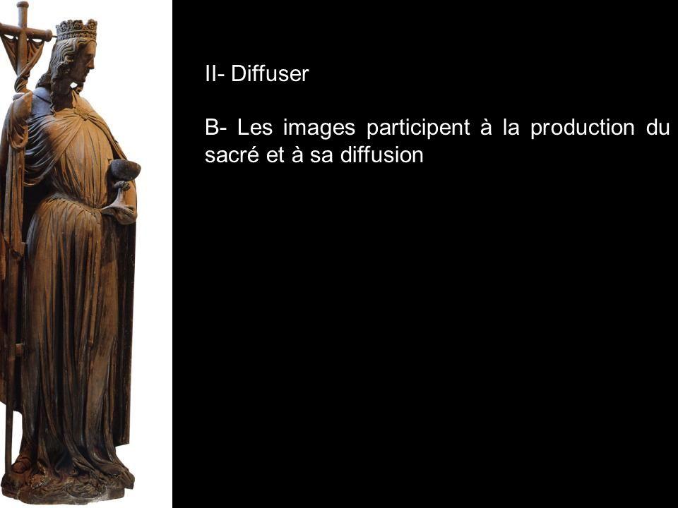 II- Diffuser B- Les images participent à la production du sacré et à sa diffusion