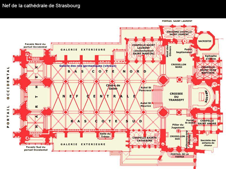 Nef de la cathédrale de Strasbourg
