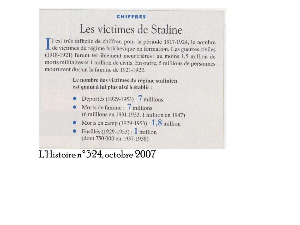 LHistoire n°324, octobre 2007