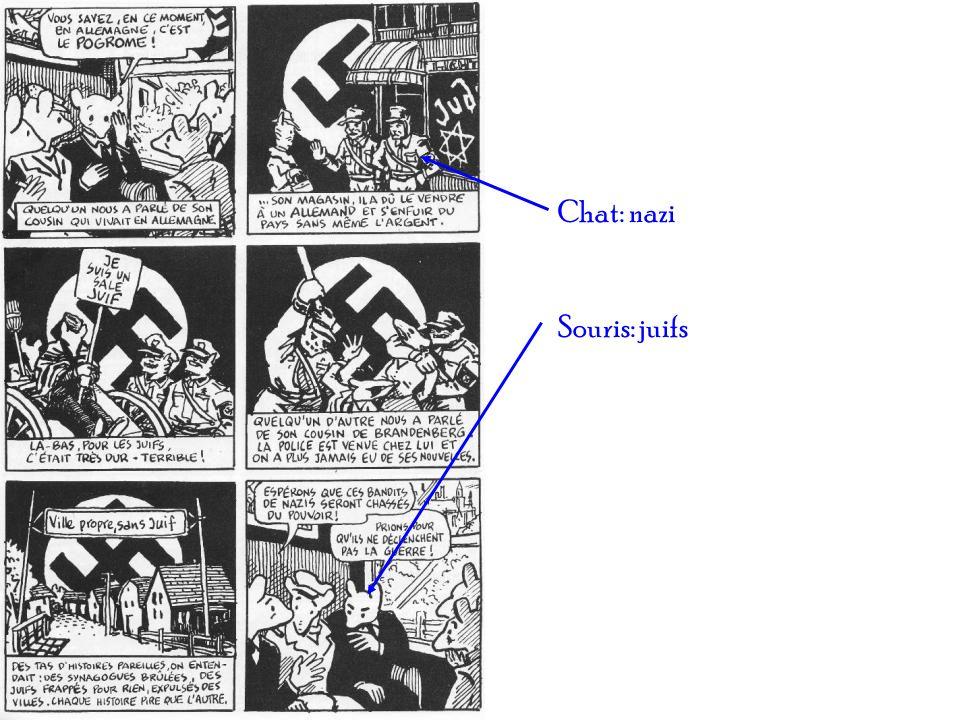 Chat: nazi Souris: juifs